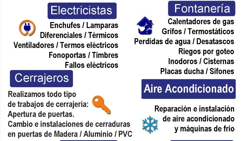 Reformas y peque as reparaciones del hogar suyake for Empresas de reparaciones del hogar en madrid