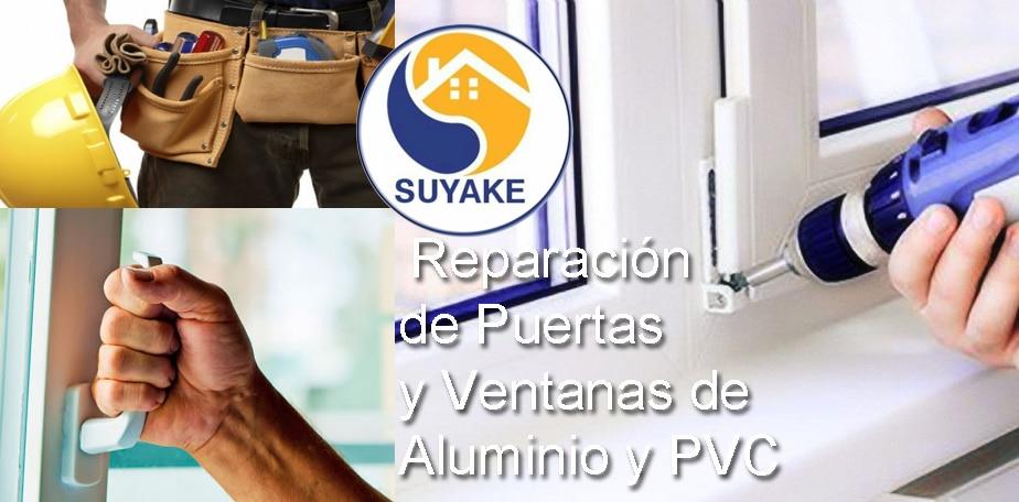 Reparación de Puertas y Ventanas de Aluminio y PVC